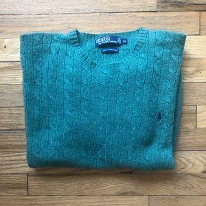 Polo by Ralph Lauren 100% Lamb's Wool Sweater XL
